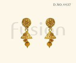Antique Designer Jhumka Earrings