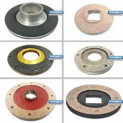Brake Discs Electromagnetic Brake Plate With Liner