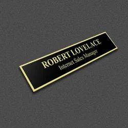Engraved Nameplates