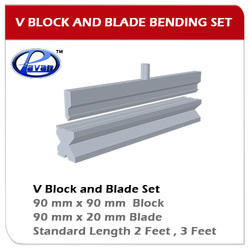 V Block & Blade Bending Die 2 Feet Length Set