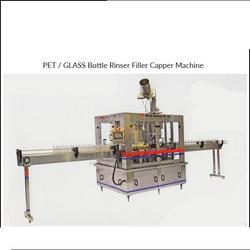 PET Bottle Rinser Filler Capper Machine