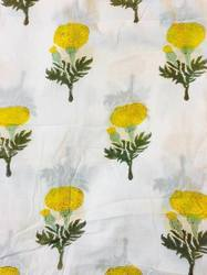 Sanganeri Hand Block Print Fabric