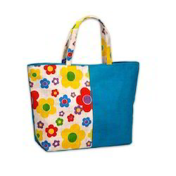 Designer Canvas Beach Bag