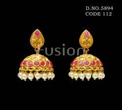 Traditional Bollywood Designer Fashion Earring