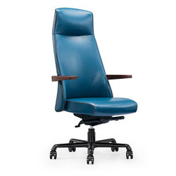 Blue High Back Executive Chair