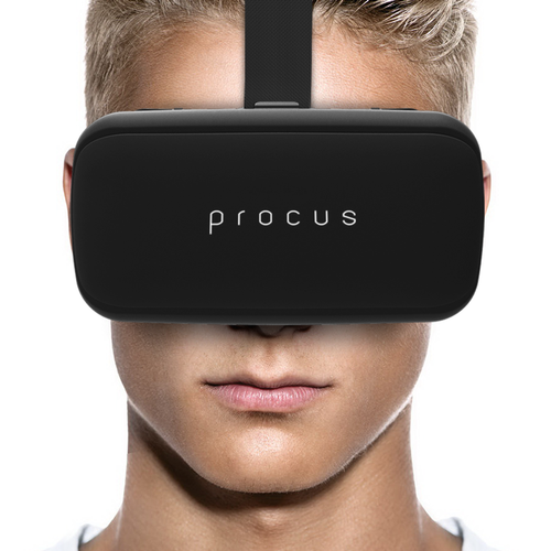 03360153f0b5 Procus ONE Virtual Reality Headset 40MM Lenses For IOS and Android for  Gaming and Videos a