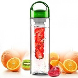 700ml Sports Outdoor Water Bottle With Fruit Juice Infuser