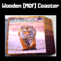 Promotional Wooden Tea Coaster