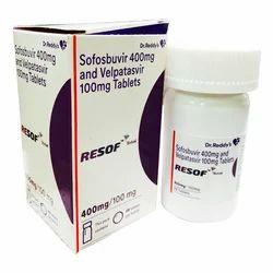 Resof Total- Sofosbuvir 400mg And Velpatasvir 100mg