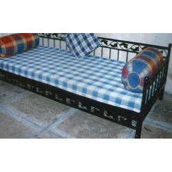 Wrought Iron Stainless Furniture MS Wrought Iron Single Bed