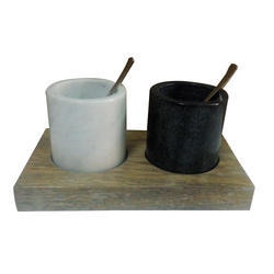 KW-272 Marble Salt And Pepper