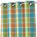 Dobby Check Cotton Curtain