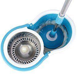 360 Spin Mop Steel Dryer Magic Mop Bucket