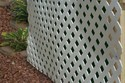 PVC Trellis Fencing