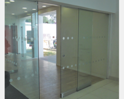 Glass Sensor Sliding Door