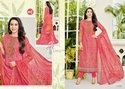 Round Neck Eleesaa Salwar Suit Fabric