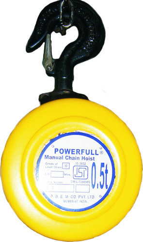 ISI Marked Light Duty Chain Pulley Block