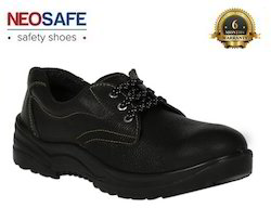 PU Sole Leather Steel Toe Safety Shoes