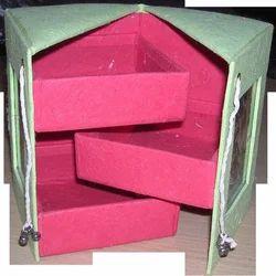 Hand Made Paper Silk Almirah