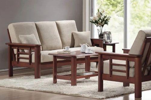 Wooden Sofa Set Teak Wood Sofa Set Manufacturer From Chennai