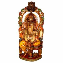 Resin Chakra Ganesha Statue
