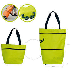 Foldable Shopping Bag with Wheel