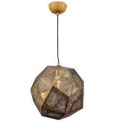 Jainsons Emporio Copper Finish Etch Pendant Lamp