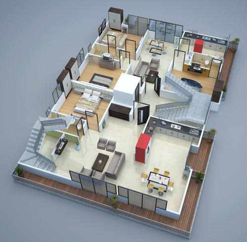 House Design Services - 3D Floor Plan of Apartments Consultants from on 4-plex home designs, 7 bedroom home designs, 1.5 story home designs, duplex townhouse designs, 2 bedroom 2 bath home designs, split ranch home designs, duplex house interior designs, 6 bedroom home designs, split level home designs, three story home designs, modern duplex house designs, duplex floor designs, single story duplex designs, 4-bedroom bungalow architectural designs, duplex exterior designs, manufactured home indoor designs, modular home designs, barn home designs, duplex house elevation designs, enchanted home designs,