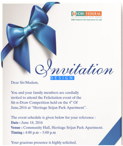 Dangler Printing Services Invitation Card Printing Services