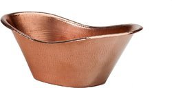 Copper Hammered Party Oval Tub NJO-1647