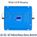 Mobile Tri-Band Signal Booster