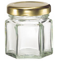 Glass Jar For Jam / Pickle / Peanut Butter With Lug Cap