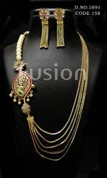 Traditional Chain Necklace Set
