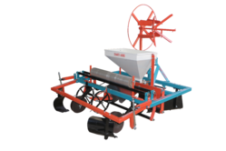 Tractor Operated Plastic Mulch Laying Machine