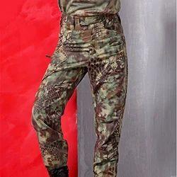 Teflon Coated Camouflage Fabric