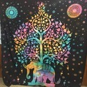 Star Mandala Tapestry Ethnic Bedsheet