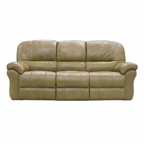 Designer Sofa 3 Seater Leather Sofa Manufacturer From Hubli
