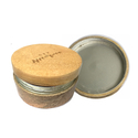 50g 100g 150g 200g 250g 300g cosmetic bamboo wooden cream jar with metal inner