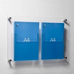 Acrylic Leaflet Holders