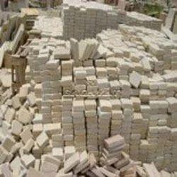 Sawn Tumbled Mint Sandstone Cobbles