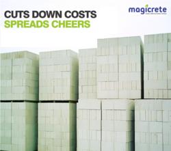 Magicrete Light Weight AAC Blocks
