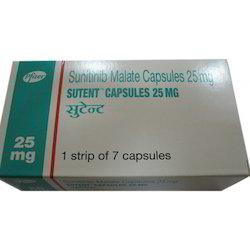 Pfizer Sunitinib 25mg Capsules