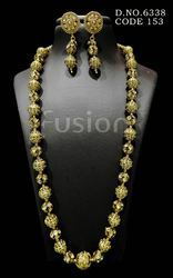 Antique Beaded Necklace Set