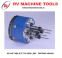Adjustable Pitch Multi Spindle Drilling Tapping Head