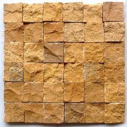 Jaisalmer Yellow sandstone Wall cladding Mosaic tile