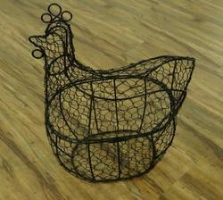 Iron Wire Egg Basket