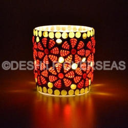 Colorful Candle Votive