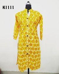 Sherwani Style Kurti