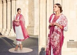 Cotton Printed Sleeve Suit By Abir ( Sahiba)