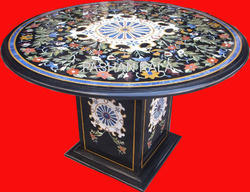 Marble Inlay Pietra Dura Table Tops